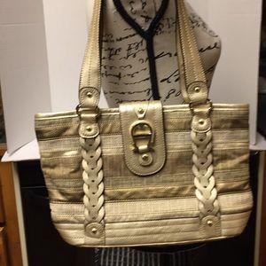Etienne Aigner Annalise gold purse